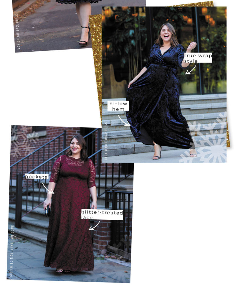 Find the perfect plus size holiday dress