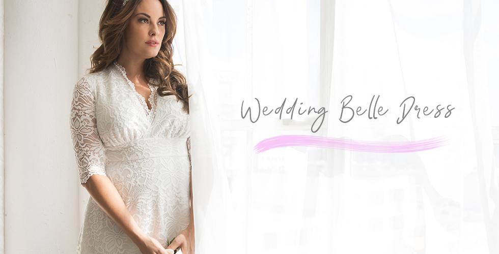 Model wears our Wedding Belle Dress.