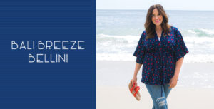 The Bali Breeze Bellini is one of our favorite plus size weekend separates