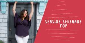 Plus size summer styles can also be dressy. Our Seaside Serenade Top can be dressed up or down.