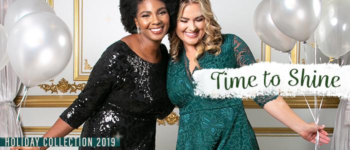 Time to Shine | Kiyonna Holiday Collection 2019