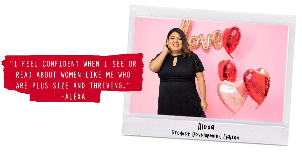 Self-love affirmation shared by Alexa