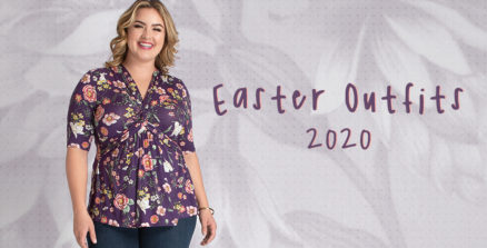Plus Size Easter Outfits You'll Be Comfy In
