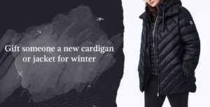 Plus Size Cozy Outerwear can consist of a new jacket for a loved one to stay warm and toasty for the winter.