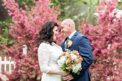 Plus Size Bride, Julie's Casual & Romantic Wedding