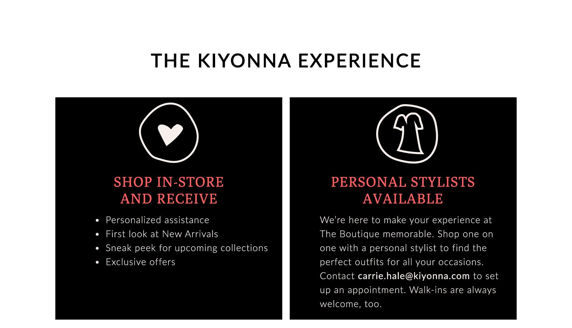 The Kiyonna Experience