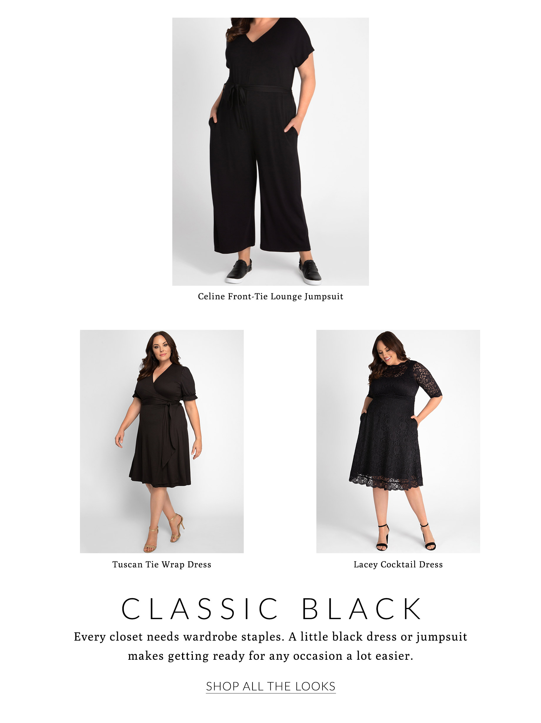 Classic Black Styles