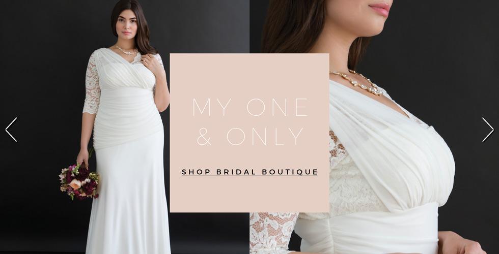 Plus Size Women's Bridal