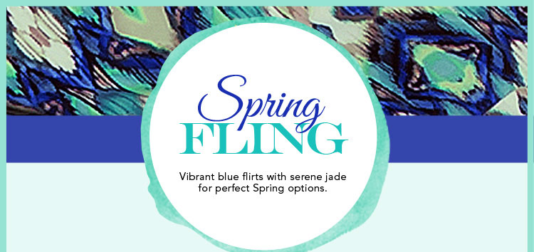 Introducing New Arrivals in Pretty Blues and Jades