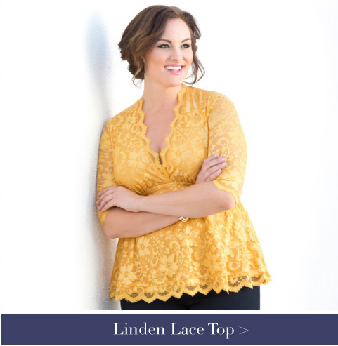 Plus Size Evening Wear Tops | Lace Tops