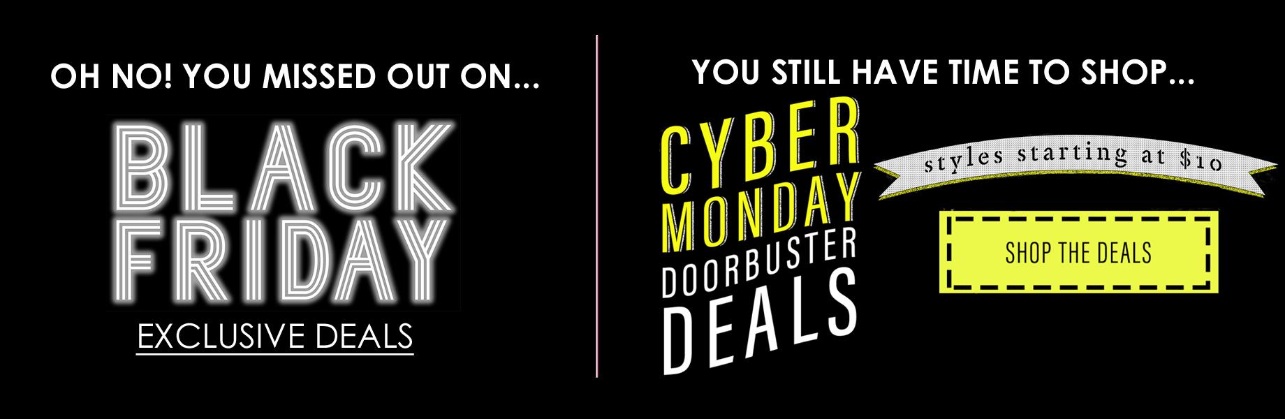 Oh No - Black Friday Deals