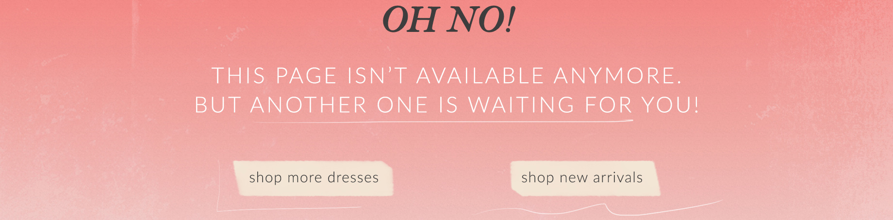 Oh No! This is Awkward... This page isn't available anymore.