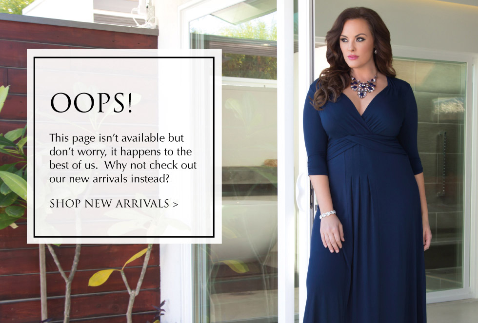 Oops, this stylish item is no longer in stock. Check out the latest arrivals in plus size swimwear from Kiyonna!