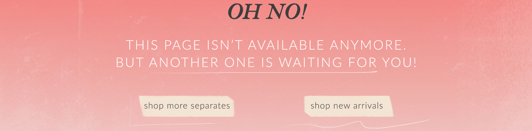 Oh no! This is awkward...This page is no longer available.