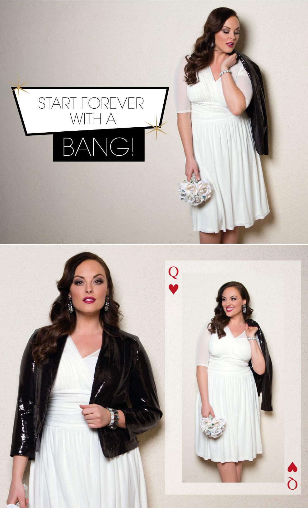 Vegas Plus Size Wedding Dress | Forever Yours Wedding Dress