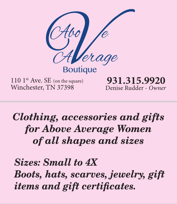 Above Average Boutique   Plus Size Clothing Boutique in Tennesse