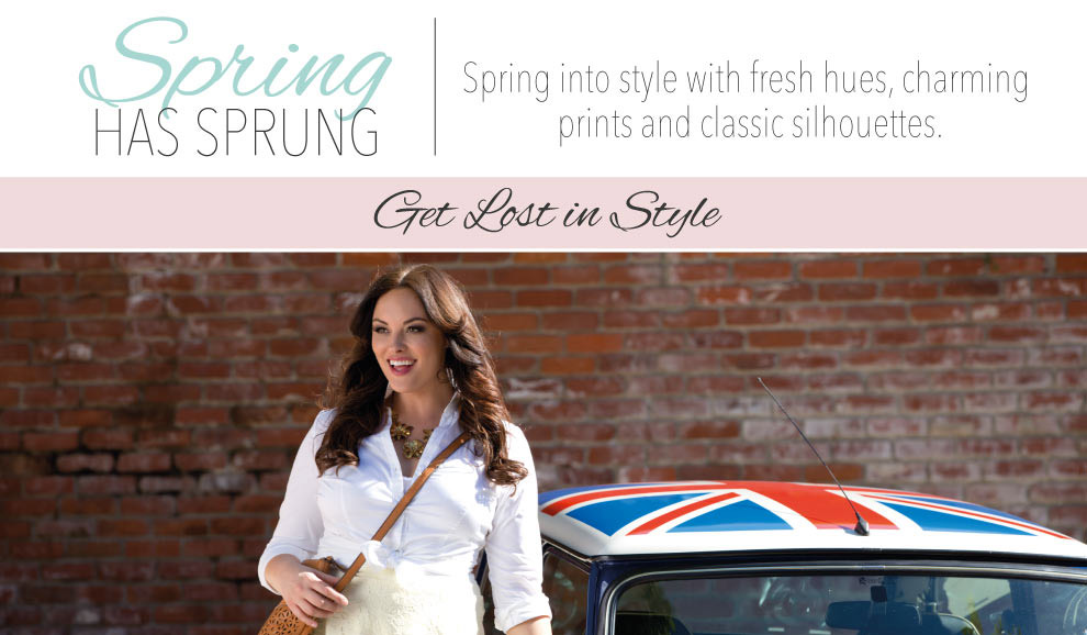Plus Size Spring Styles for Curvy Women