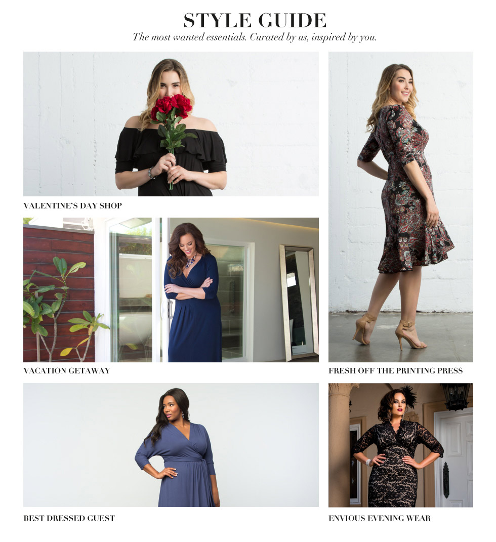 Women's Plus Size style guides 2016