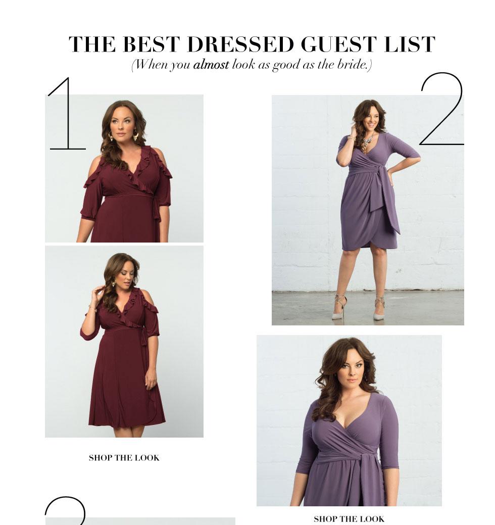 Kiyonna Clothing Plus Size Wedding Guest Dresses