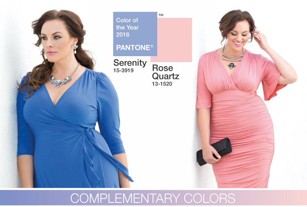Kiyonna Clothing Plus Size Clothing Pantone Color 2016 Rose