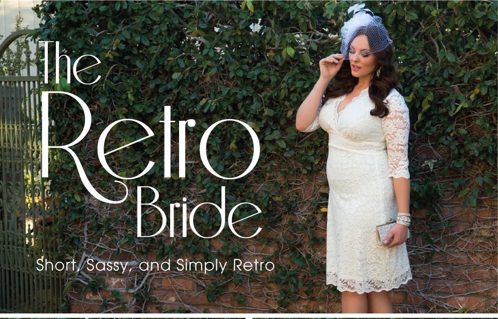 Plus Size Wedding Style   The Retro Bride