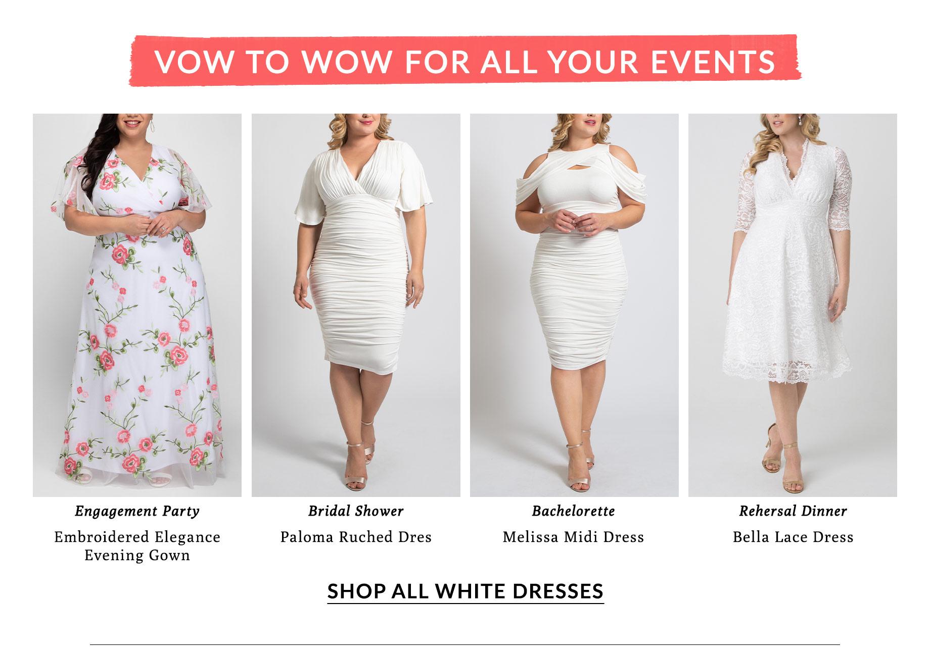 Shop All White Dresses