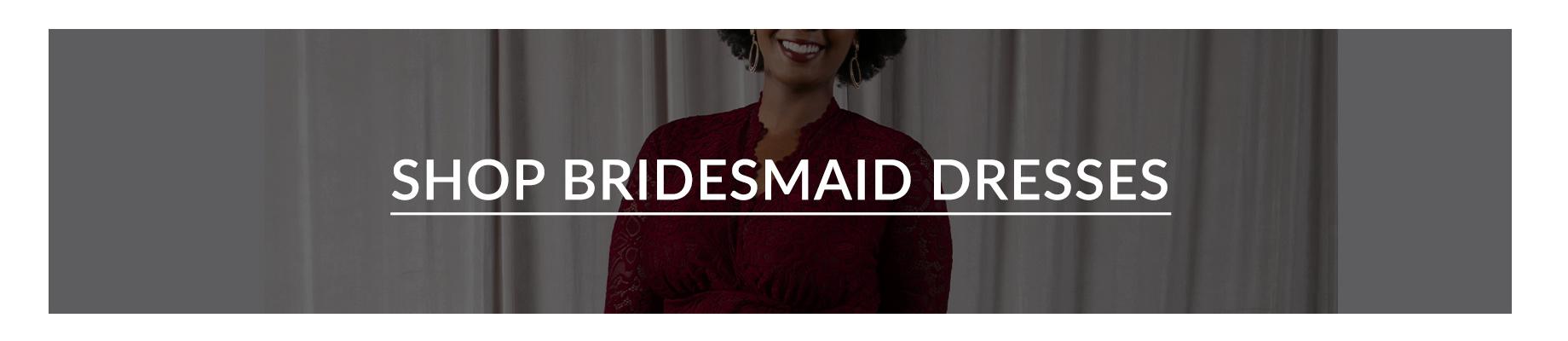 Shop Plus Size Bridesmaids Dresses