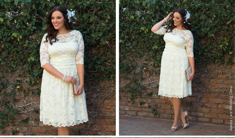 Retro Inspired Wedding Dresses   Aurora Lace Wedding Dress