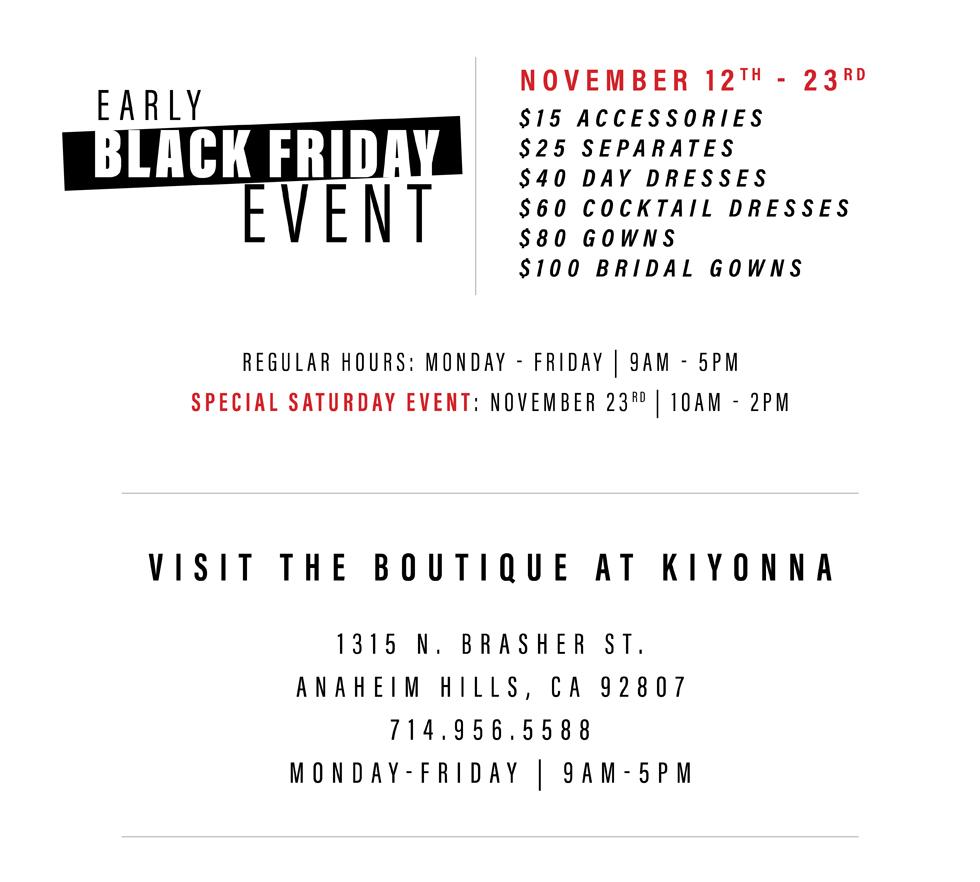 The Boutique at Kiyonna in Anahiem Hills, CA