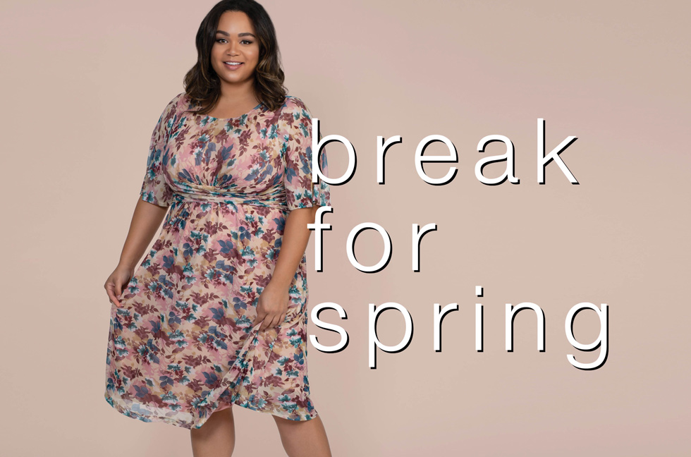 Plus size styles for spring
