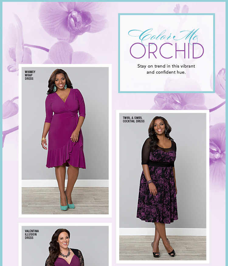Introducing the Color of the Year...Orchid