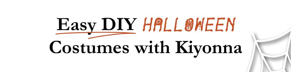 Easy DIY Halloween Costumes with Kiyonna