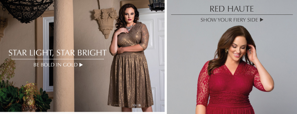 Kiyonna Plus Size Holiday Color Guide