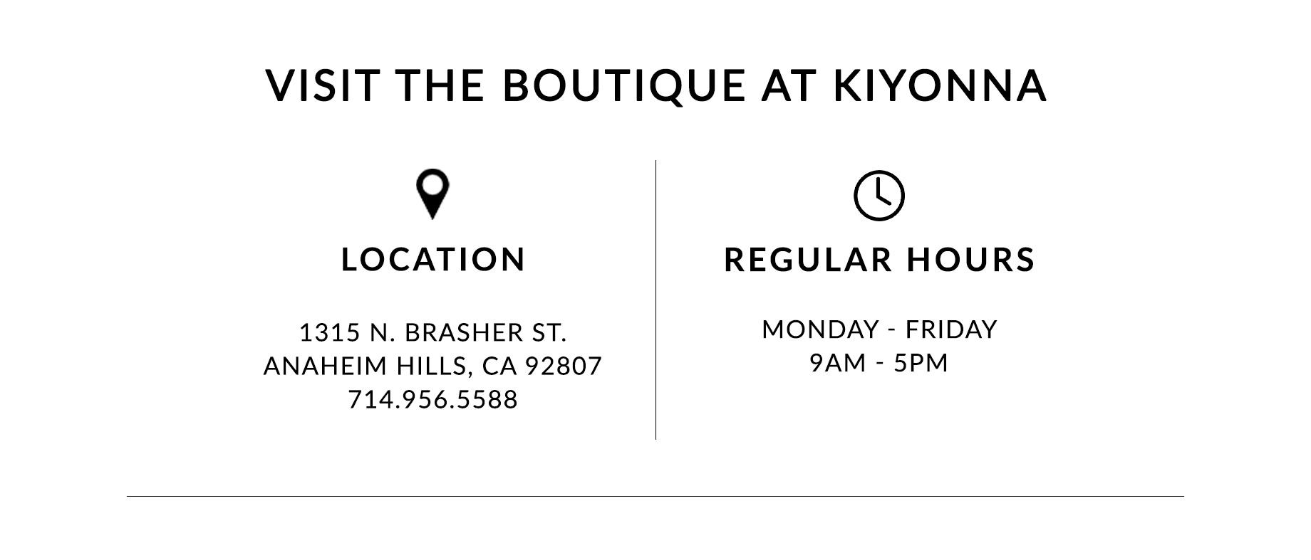 Visit the Boutique at Kiyonna