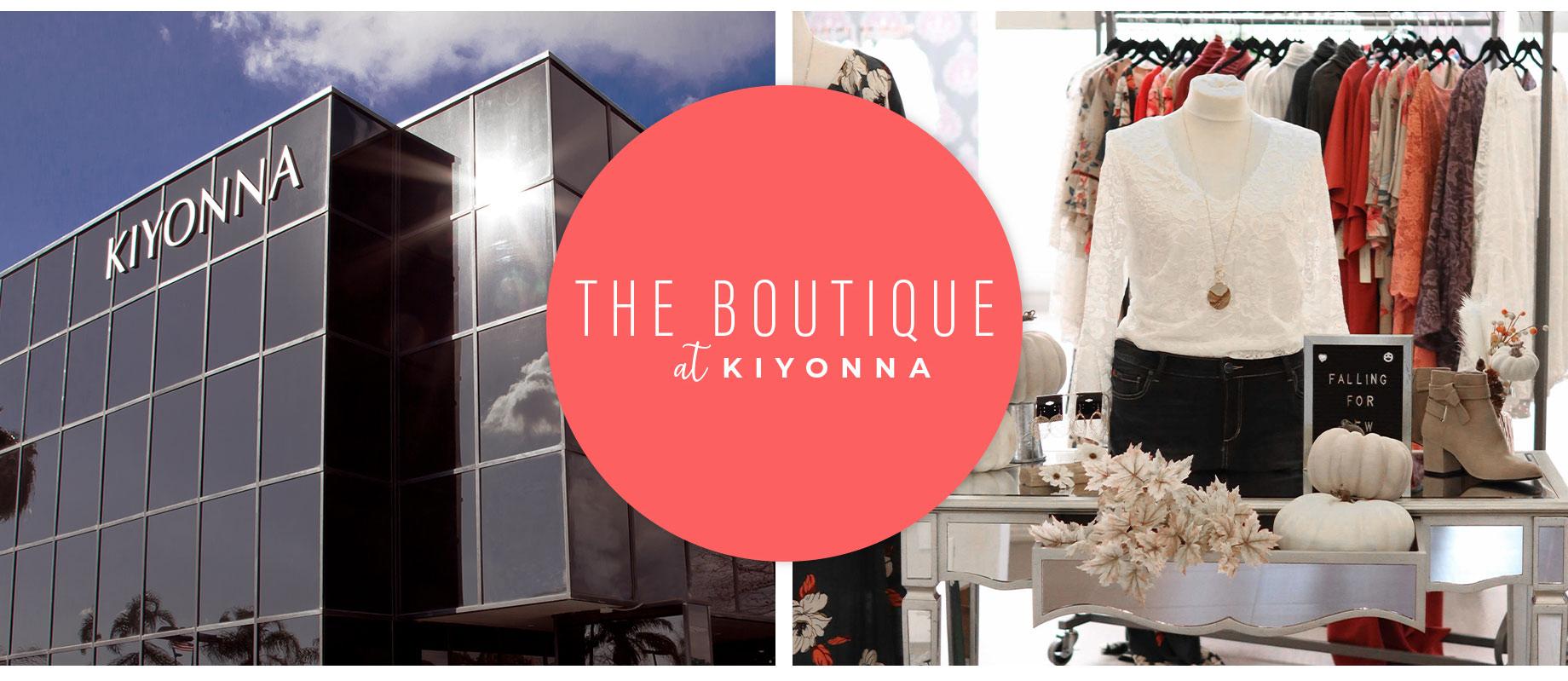 The boutique at Kiyonna