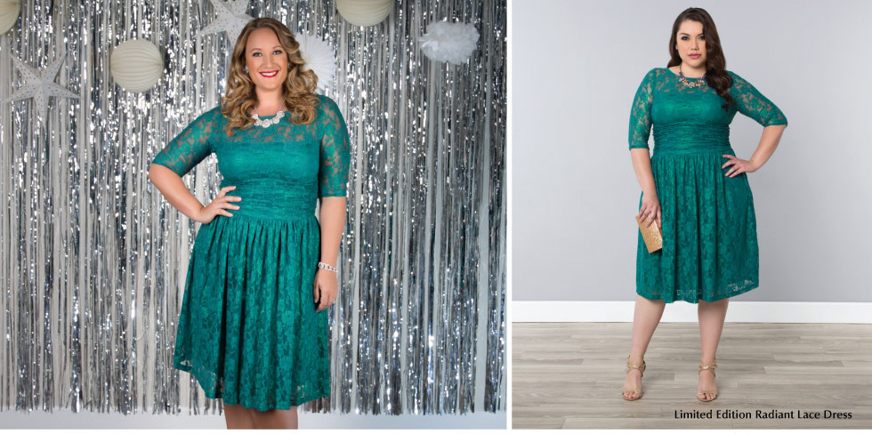 Plus Size Cocktail Dress for Holiday Party