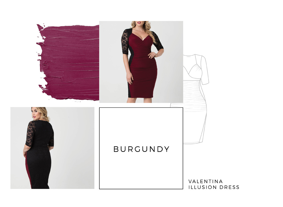 Shop plus size cocktail dresses on Kiyonna Clothing.