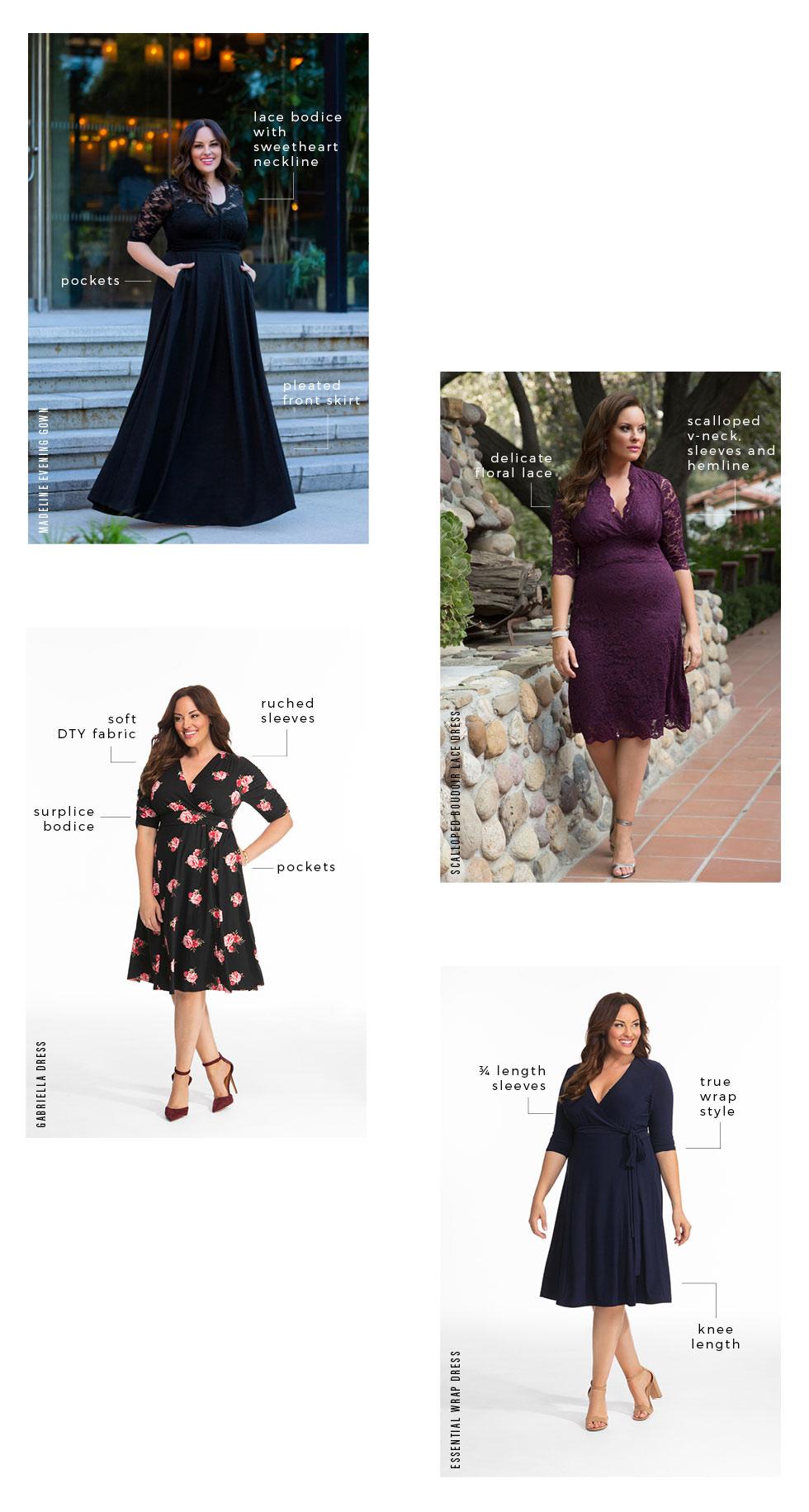 Wedding Guest Dresses for plus size women