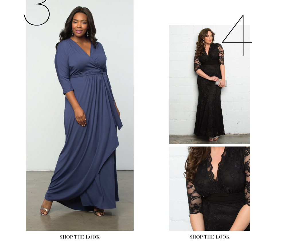 Plus Size Floor Length Dresses