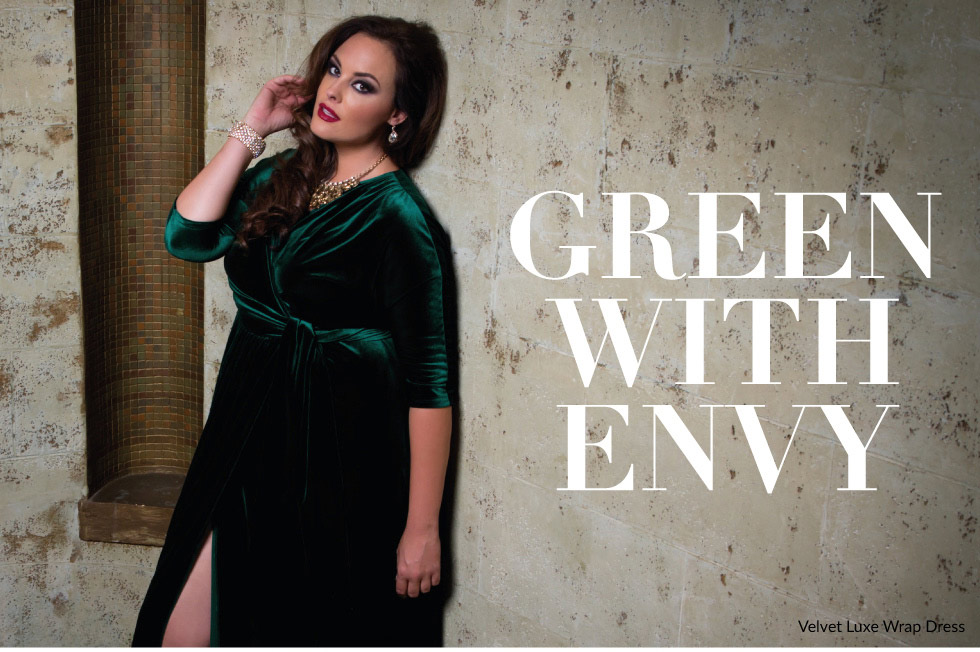 Plus size trendy velvet gowns