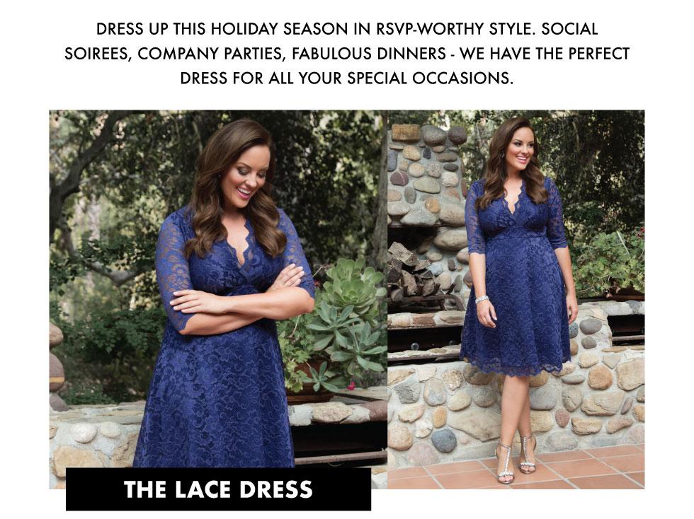 plus size lace dresses - Mademoiselle Lace Dress