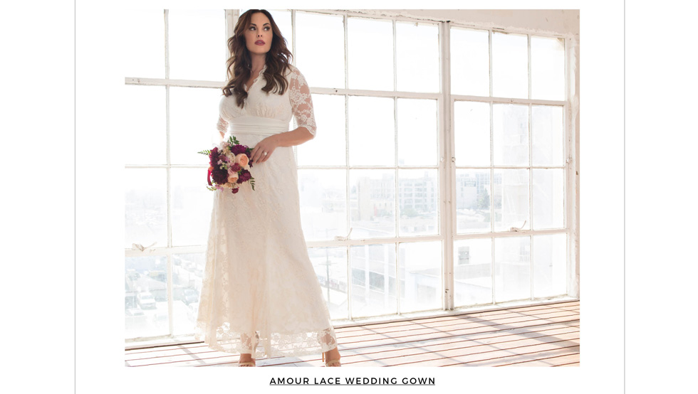 Plus Size Wedding Dresses and Gowns - Behind the Seams
