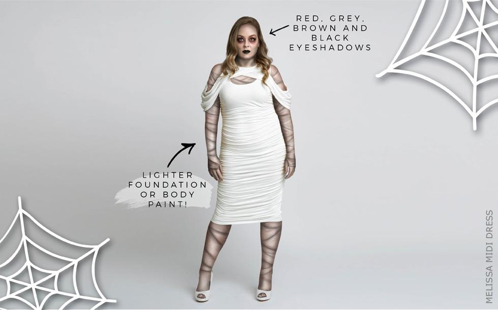 Plus Size Mummy Costume
