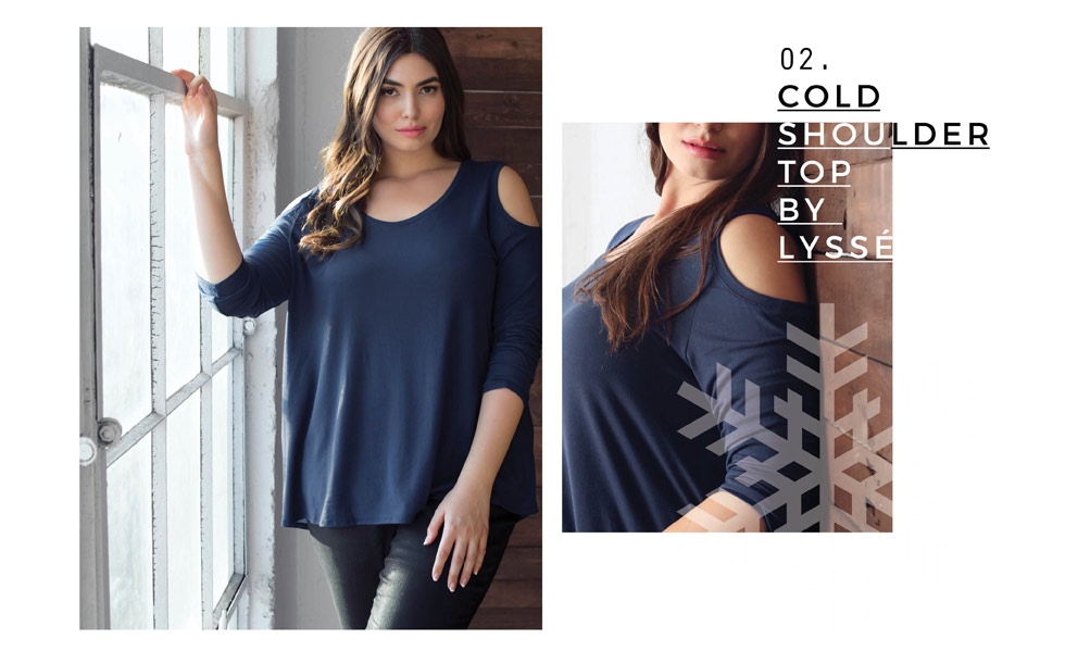 Plus Size Holiday Tops