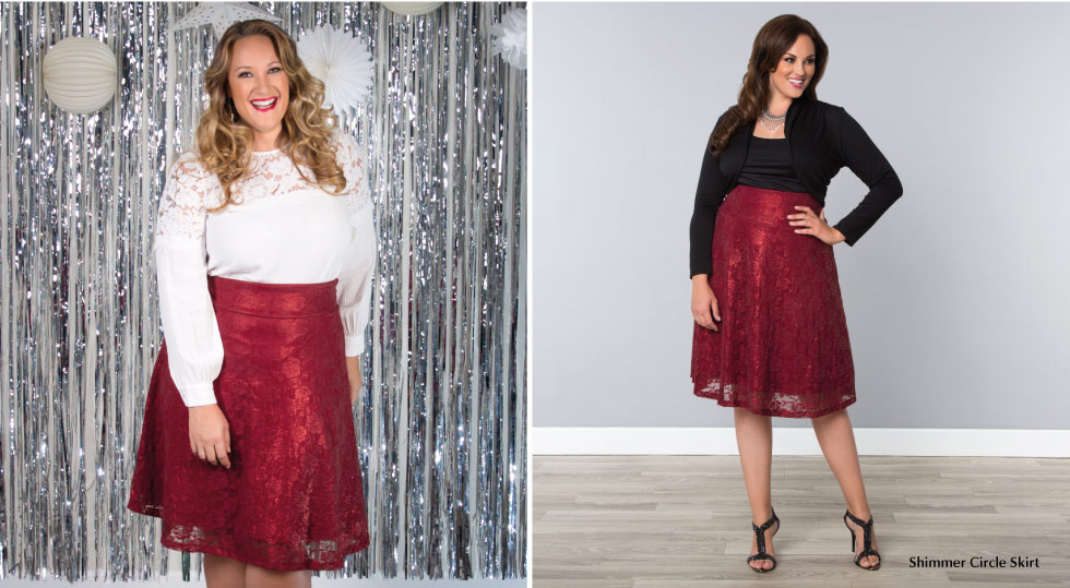 Women's Plus Size Trendy Skirts