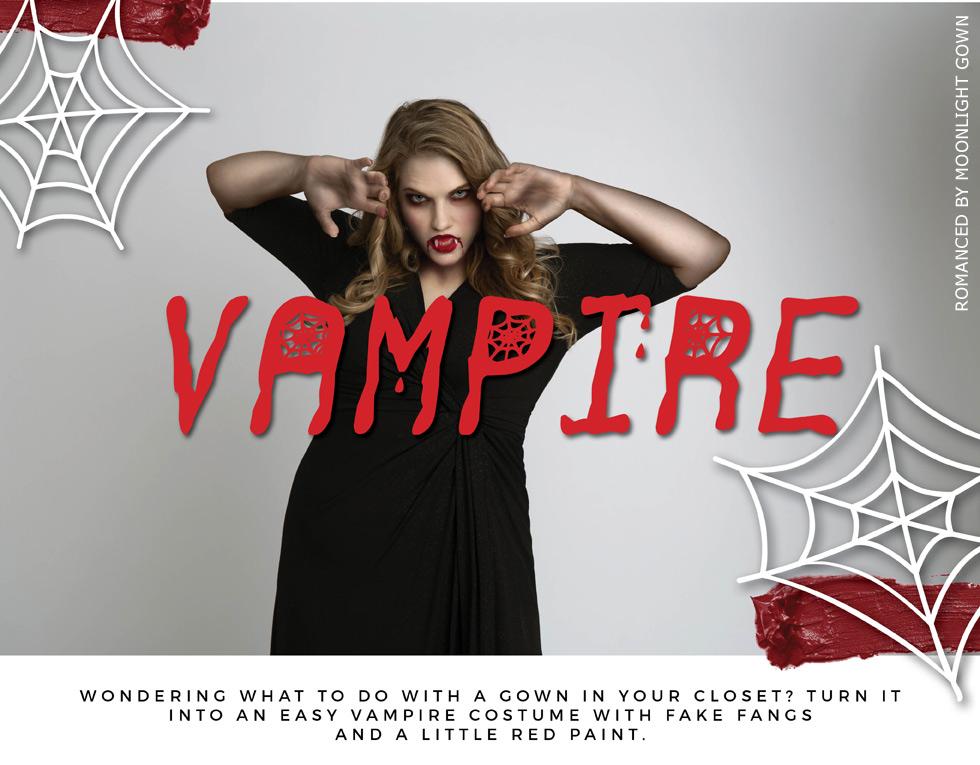 Plus Size Vampire Costume
