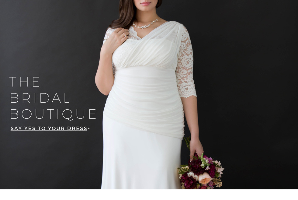 Plus Size Wedding Gowns and Dresses by Kiyonna