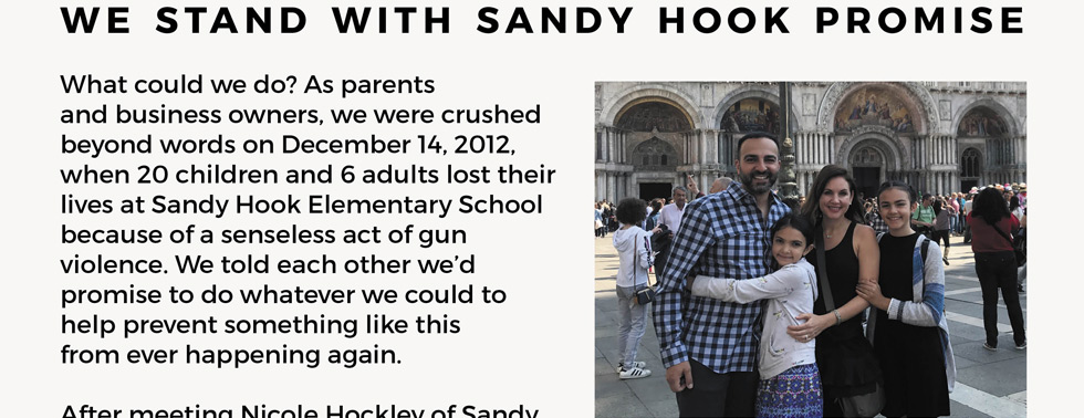 We stand with sandy hook promise