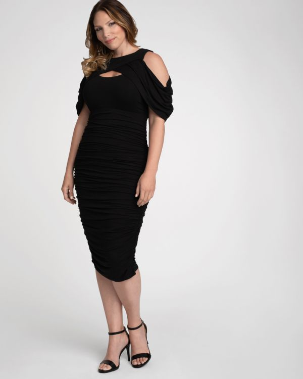 Bianca Ruched Dress
