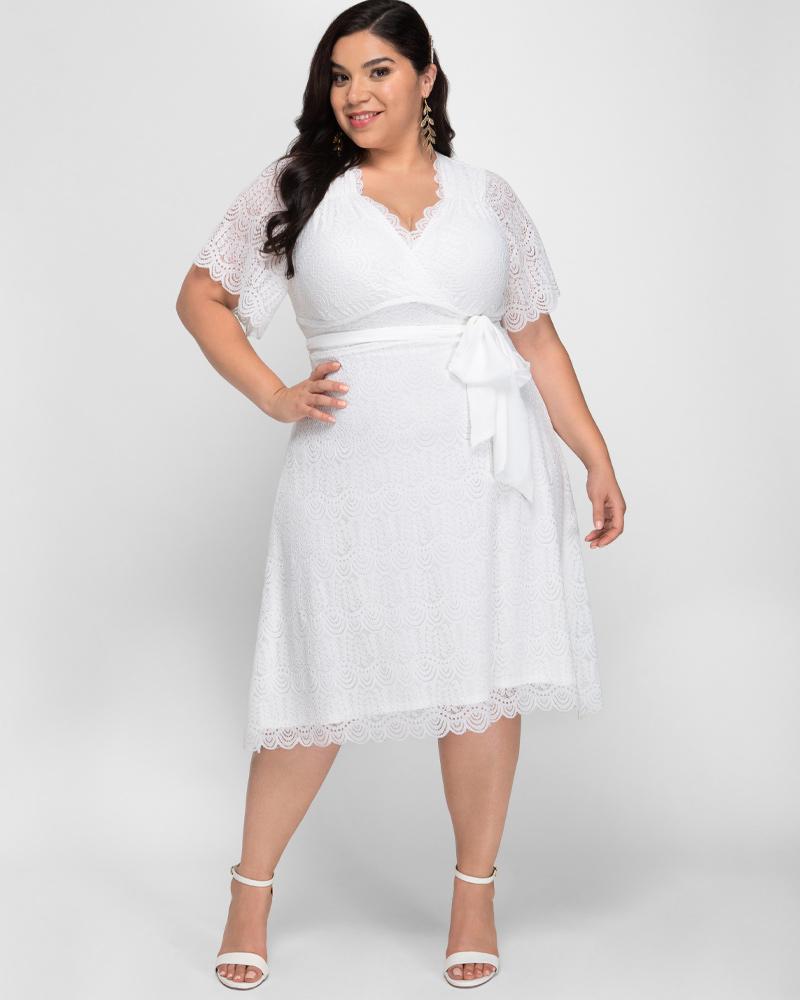 Plus Size Empire Dresses